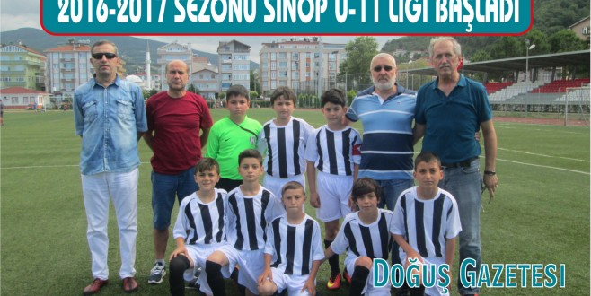2016-2017 SEZONU SİNOP U-11 LİGİ BAŞLADI