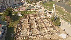 Ayancık Belediyesince ikinci tekstil fabrikasının temeli atıldı