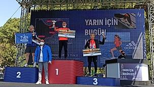 Ayancıklı Hemşehrimiz İzmir'deki yarışta 1. oldu.