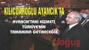 CHP Genel Başkanı Kemal Kılıçdaroğlu Ayancık'ta