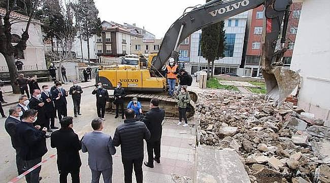 Sinop Meydan projesinde ilk adım