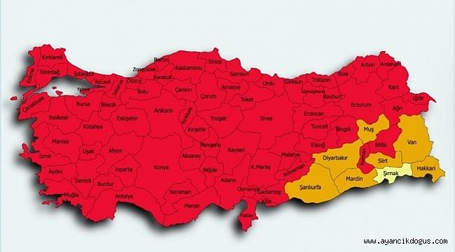 Türkiye tam kapanma kararı aldı