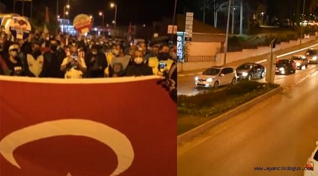 Sinoplular İsrail'in saldırılarını protesto etti