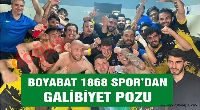 Boyabat 1868 Spor zorlu deplasmanda galip geldi