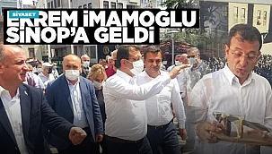 Ekrem İmamoğlu Sinop'a geldi