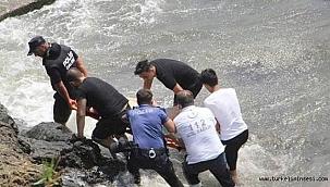 Sinop'ta 1 kişi boğularak hayatını kaybetti