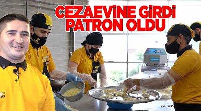 Cezaevinde aldığı pasta eğitimiyle kendi işini kurdu
