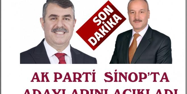 AK Parti'nin Sinop adayları belli oldu