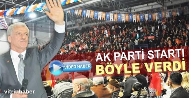 AK Parti Sinopta seçim startını böyle verdi