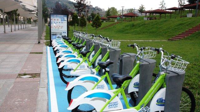Akıllı Bisikletler 11 Ocak Pazar gününe kadar yapılacak bakım onarım çalışmaları için istasyonlardan toplanıyor