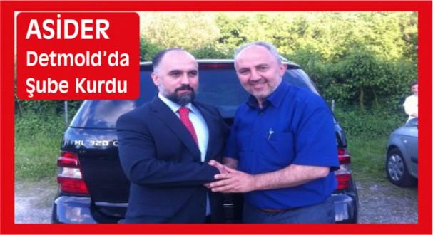 ASİDER Detmold'da Şube Kurdu