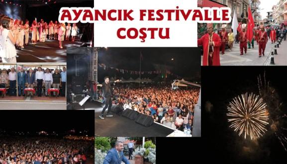 Ayancık Festivalle coştu