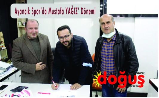 Ayancık Spor Mustafa YAĞIZ'a Emanet