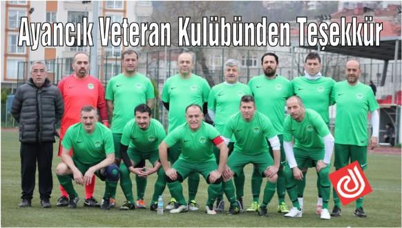 Ayancık Veteran Kulübünden Teşekkür