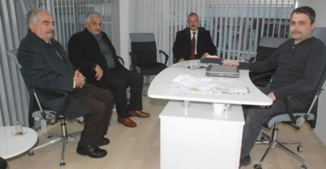 Başkan Ergün'den Meslektaşımıza Ziyaret