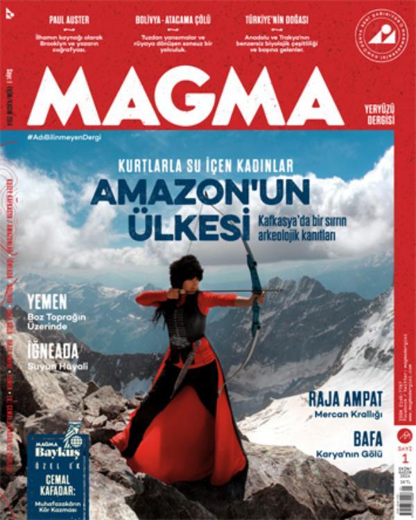 Bir yeryüzü dergisi doğdu: Magma
