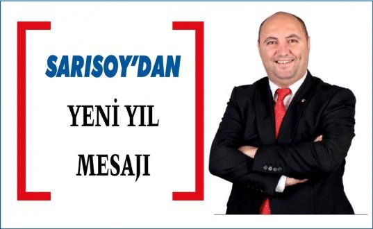 CHP Ayancık İl Genel Meclis Üyesi Ozan Sarısoy Yeni Yıl Mesajı Yayımladı.