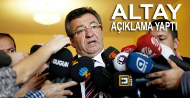 Engin Altay Başbakanın İstifasını İstedi