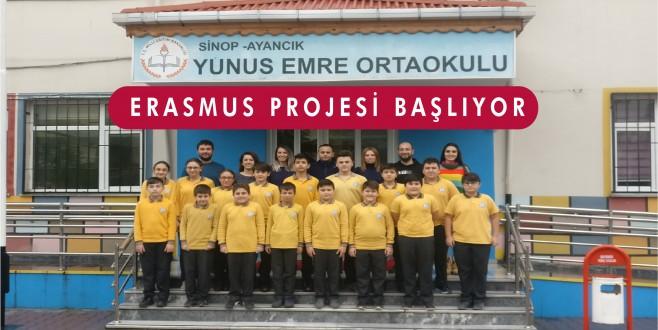 Erasmus+ Okullar Arası Değişim Ortaklıkları Projesi Başlıyor
