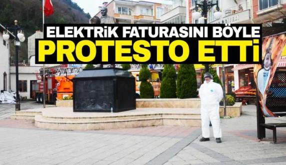 Esnaftan yüksek fatura protestosu