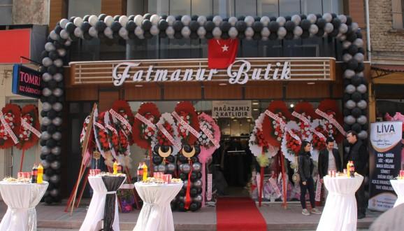 Fatmanur Butik yeni adresinde hizmete açıldı