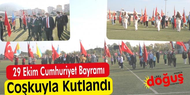 İlçemizde 29 Ekim Cumhuriyet Bayramı coşkuyla kutlandı.
