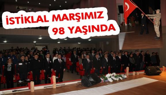 İSTİKLAL MARŞIMIZ 98 YAŞINDA