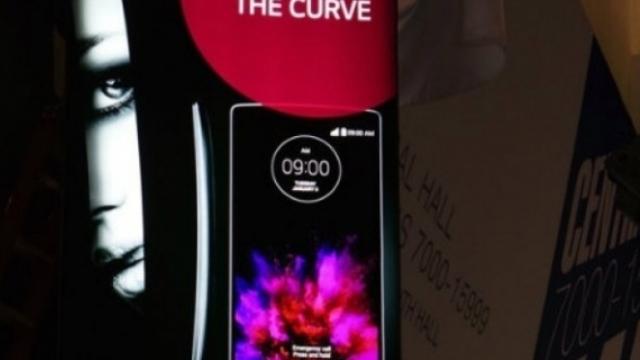LG'nin kavisli telefonunun yeni sürümü, tanıtılacağı CES 2015'ten hemen önce internete sızdı!