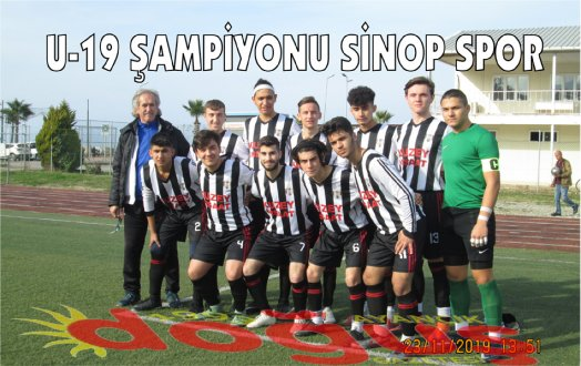 U-19 ŞAMPİYONU SİNOP SPOR