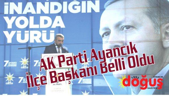 AK Parti Ayancık'ta Aslan Özdemir dedi