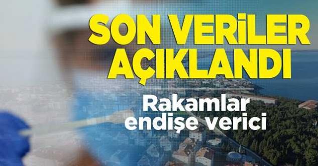 Sinop için vaka sayılarındaki son veriler açıklandı