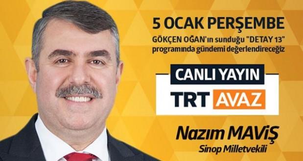 Maviş, TRT Avaz ekranına konuk oluyor