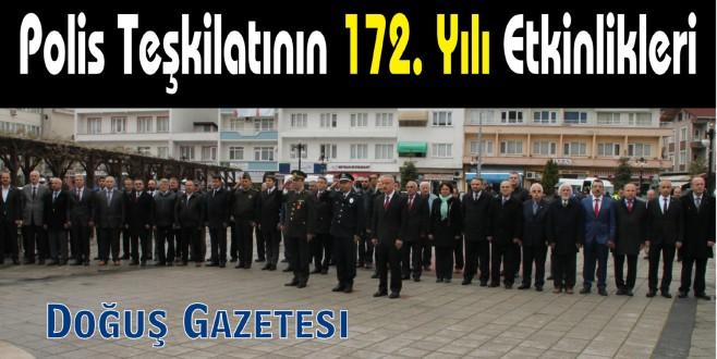 Polis Teşkilatının 172. Yılı Etkinlikleri