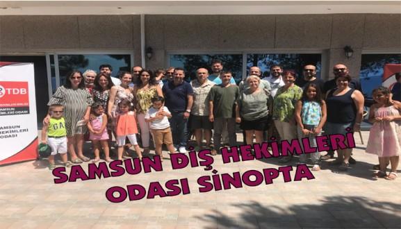 SAMSUN DİŞ HEKİMLERİ ODASI SİNOP'TA