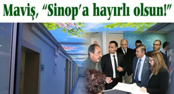 Sinop Atatürk Devlet Hastanesi'nde yenilik