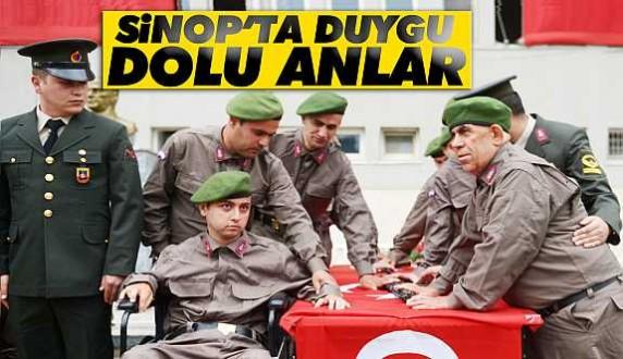 Sinopta engelliler asker oldu