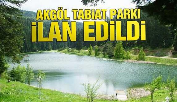 Ülkemizin 236. tabiat parkı Sinop'ta ilan edildi