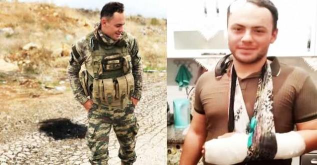 Yaralı asker memleketi Sinop Boyabat'ta